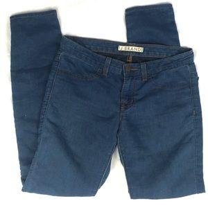 J BRAND ELECTRIC soft blue skinny leg denim jeans